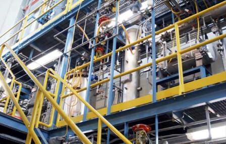 CO2 pilot plant